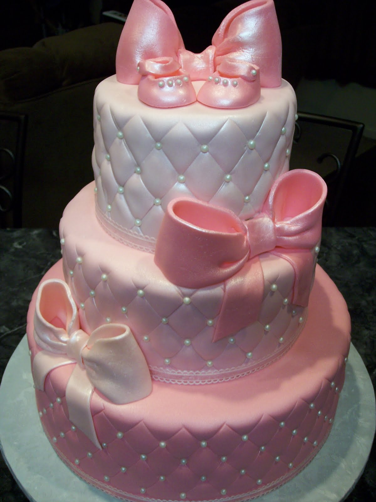 Baby Shower Bows Super Yummy Cakes