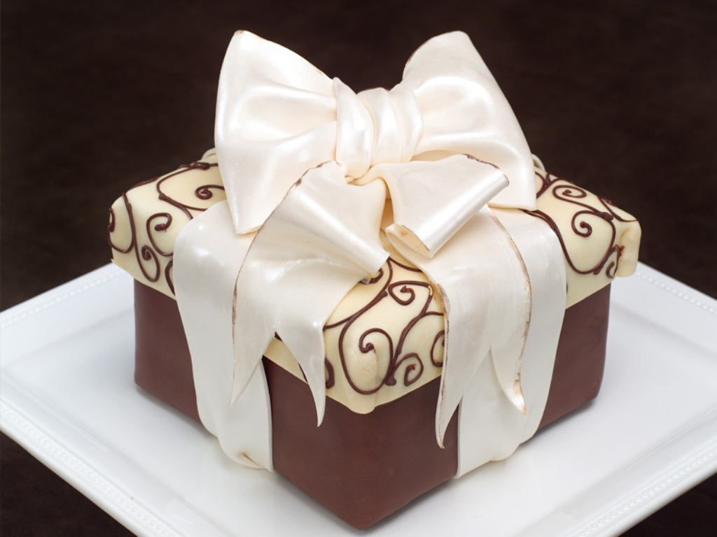 Gift Box Cake Super Yummy Cakes