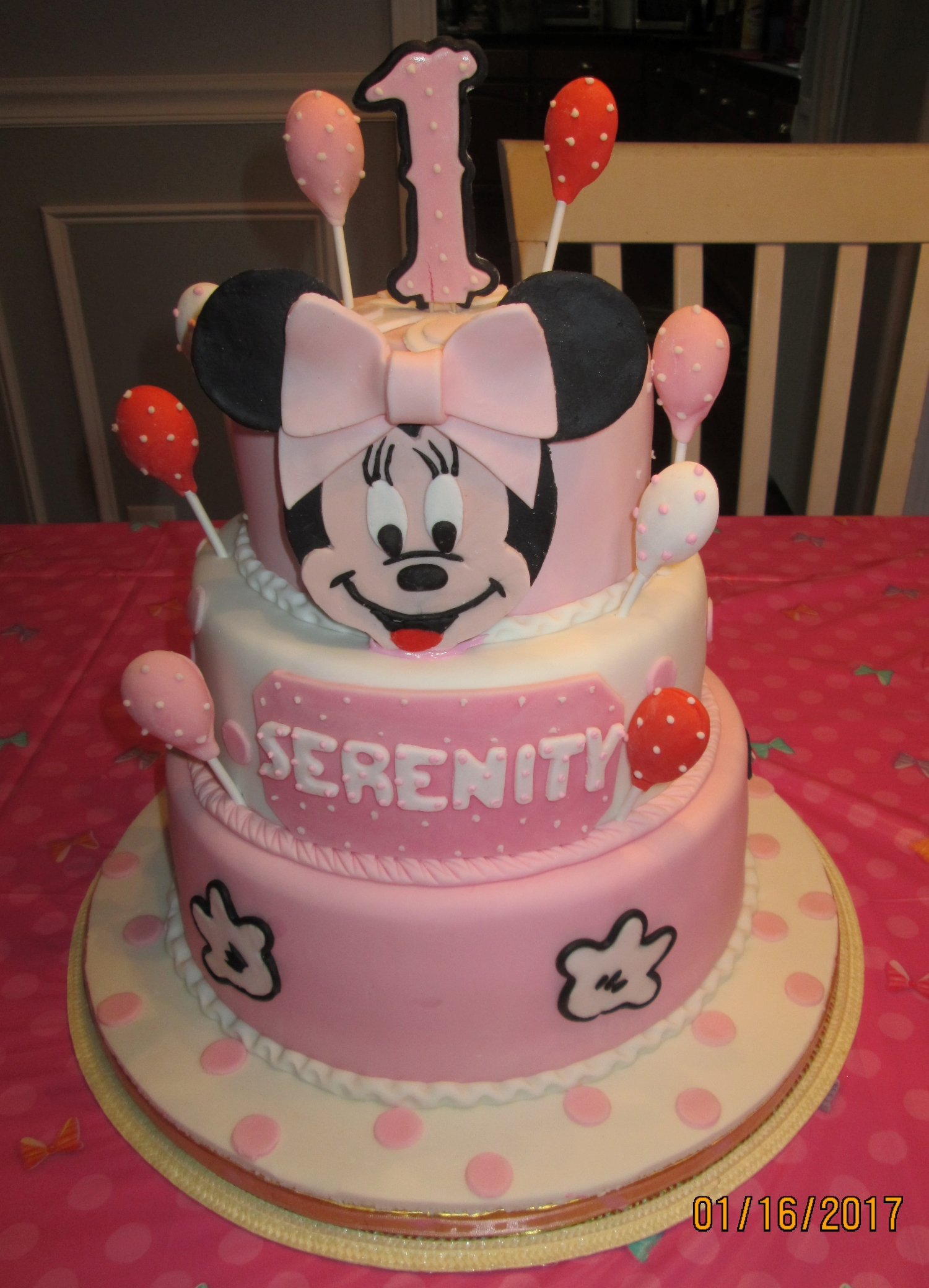 Minnie 1st Birthday – Super Yummy Cakes