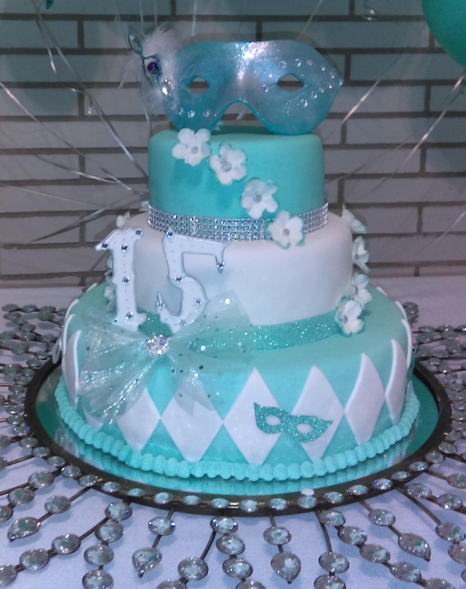 Quinceanero Cake