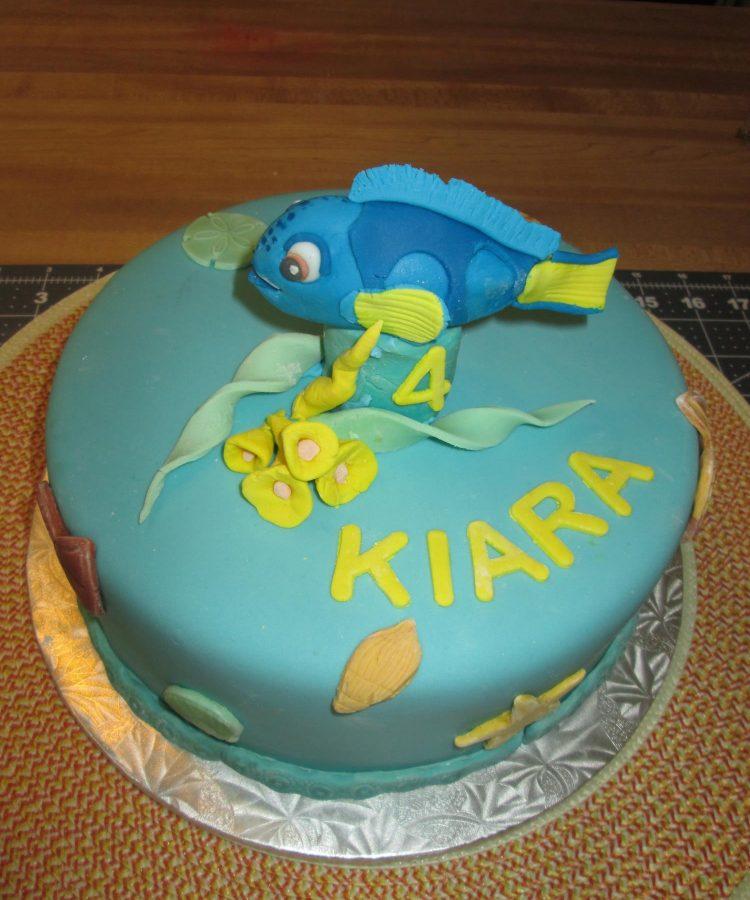 Dory Birtdhay Cake