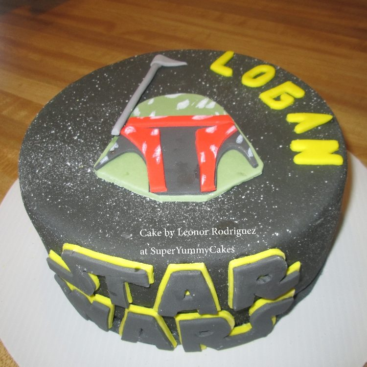Star Wars - Kid cake
