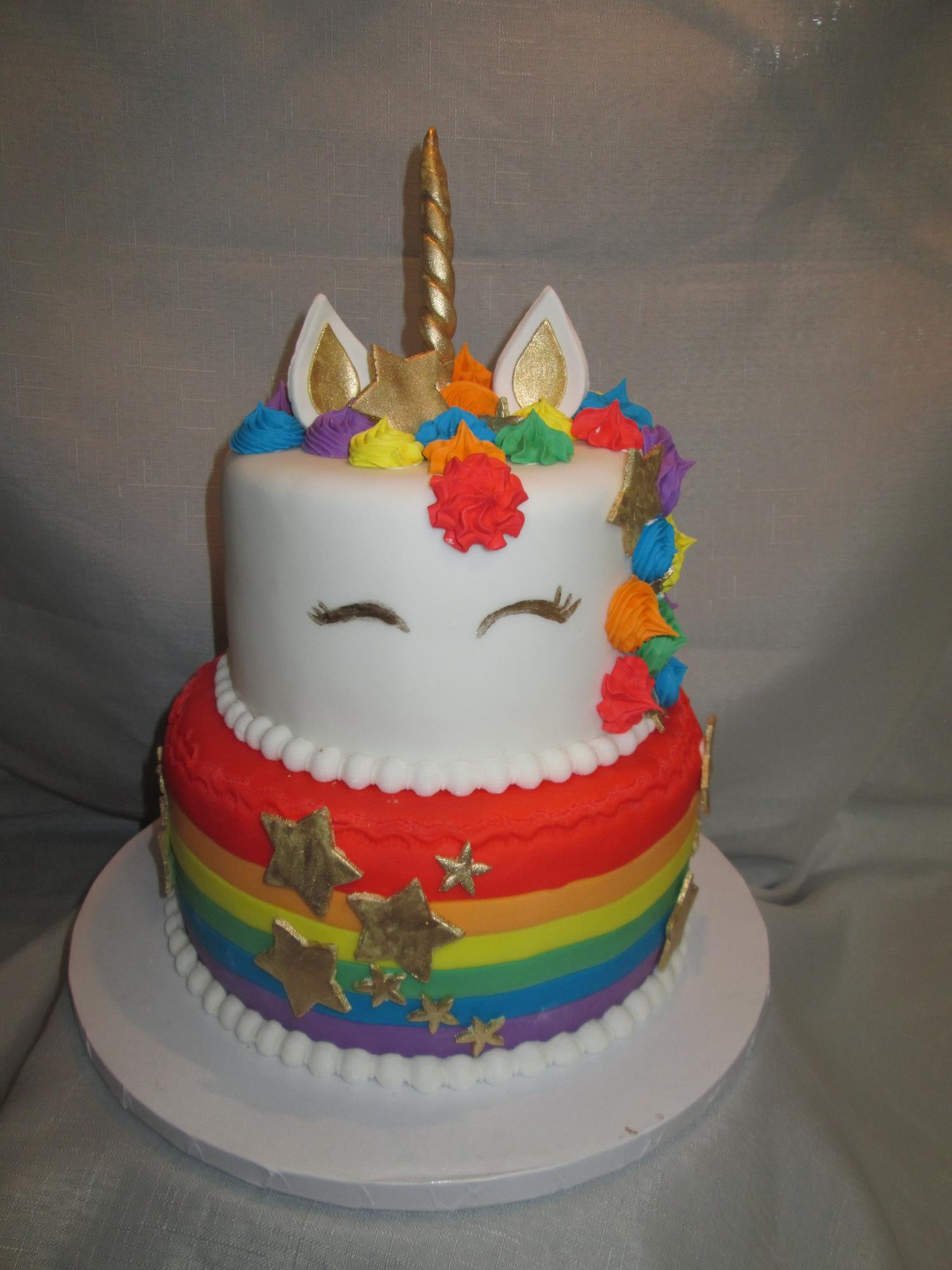 Rainbow Unicorn Cake Super Yummy Cakes